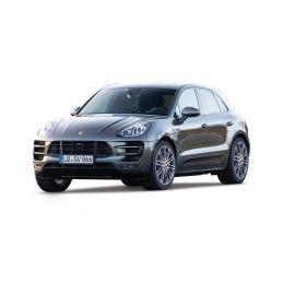 Bburago Plus Porsche Macan 1:24 černá metalíza - 1