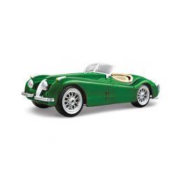 Bburago Jaguar XK 120 Roadster 1951 1:24 zelená - 1