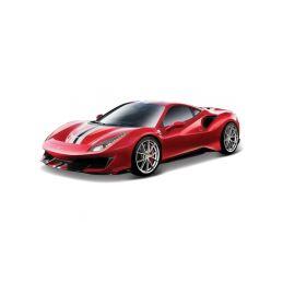 Bburago Ferrari 488 Pista 1:24 červená - 1