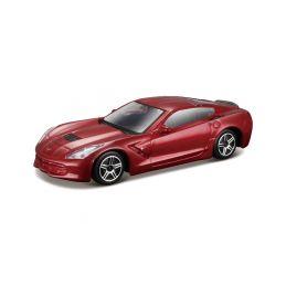 Bburago 2014 Corvette Stingray 1:43 červená - 1