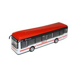 Bburago City Bus červený - 1