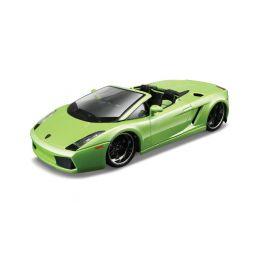 Bburago Plus Lamborghini Gallardo Spyder 1:32 zelená - 1