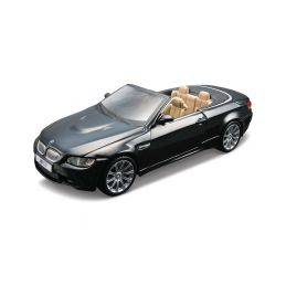 Bburago Plus BMW M3 Cabriolet 1:32 černá - 1