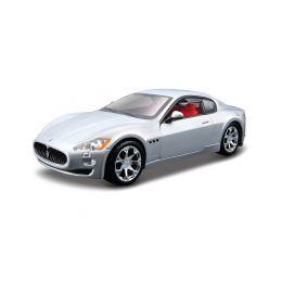 Bburago Plus Maserati GranTurismo 2008 1:32 stříbrná - 1