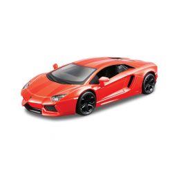Bburago Plus Lamborghini Aventador Coupe 1:32 oranžová - 1
