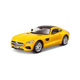 Bburago Plus Mercedes AMG GT 1:32 žlutá - 1