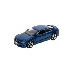 Bburago Audi A5 1:32 modrá metalíza - 1