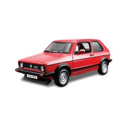 Bburago VW Golf Mk1 GTI 1979 1:32 červená - 1