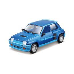 Bburago Renault 5 Turbo 1:32 modrá - 1