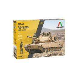 Italeri M1A2 Abrams s posádkou (1:35) - 1