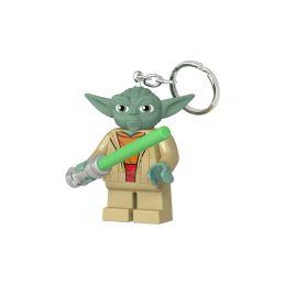 LEGO svítící klíčenka - Star Wars Yoda se světelným mečem - 1