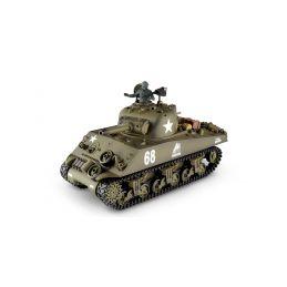 RC tank 1:16 M4A3 Sherman kouř. a zvuk. efekty - 1
