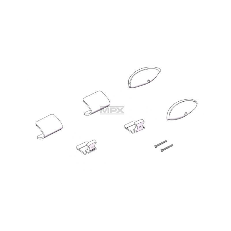 224440 krytky navigačních světel FunCub XL - 1