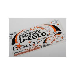 724125 Polepy Easystar, černá/oranžová - 1