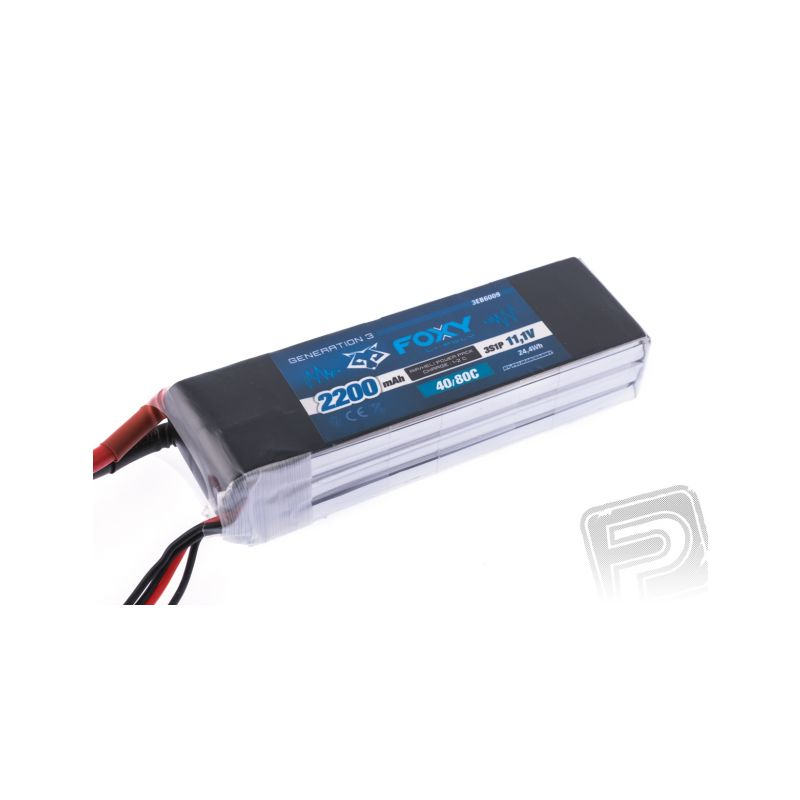 FOXY G3 - Li-Po 2200mAh/11,1V 40/80C 24,4Wh - 1