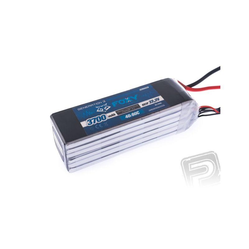 FOXY G3 - Li-Po 3700mAh/22.2V 40/80C 82.14Wh - 1