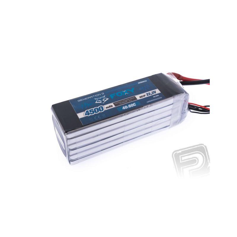 FOXY G3 Li-Po 4500mAh/22.2V 40/80C 99.9Wh - 1