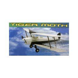 Tiger Moth 889mm laser. vyřezávaný - 1