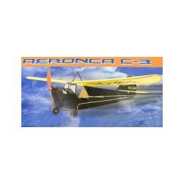 Aeronca C-3 Collegian 889mm laser. vyřezávaná - 1
