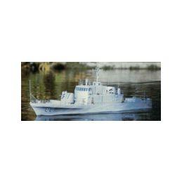 USS Crockett rychlý dělový člun 1295mm - 1