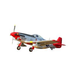 """P-51D Mustang """"Red Tail"""" V8 - ARF - 1"""