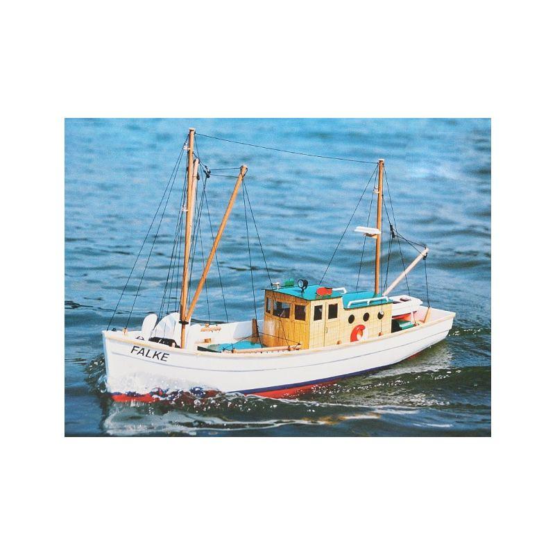 FALKE stavebnice rybářského člunu - 1