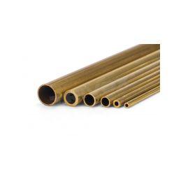 Mosazná trubička tvrdá 9.0x8.1x1000mm - 1