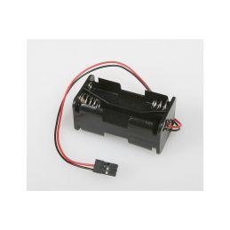 JR071 Pouzdro pro 4 tužkové baterie (AA) JR - 1