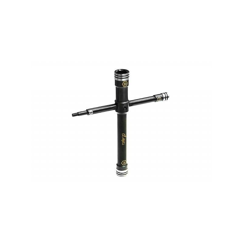 Alpha ocelovový nástrčkový klíč (10mm, 8mm, 3mm, 5.5mm) - 1