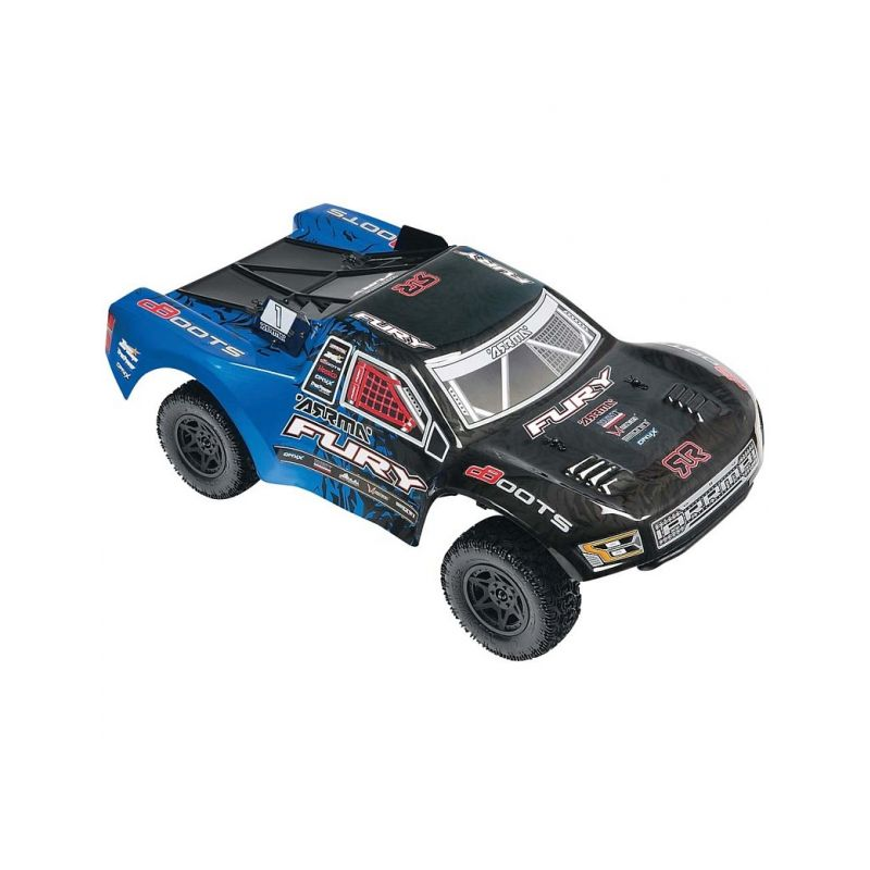 Fury Mega 2WD RTR (modro-černá) - 1