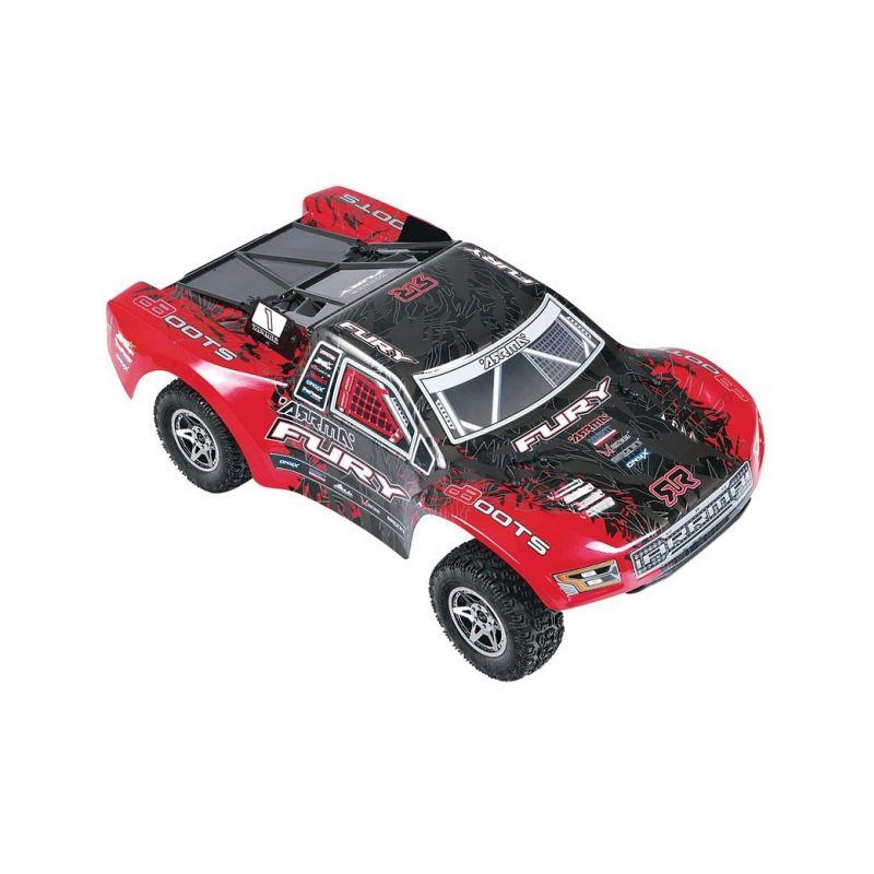 2016 Fury BLX 2WD RTR (červeno-černá) - 1