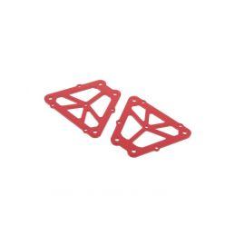 Hliníkové vzpěry, červené (2 ks.), Nero - 1