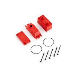 ADS V2 plastová krabička serva, červená - 1