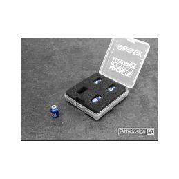 Označovací sada pro 1/10 karoserie - modrá - 1