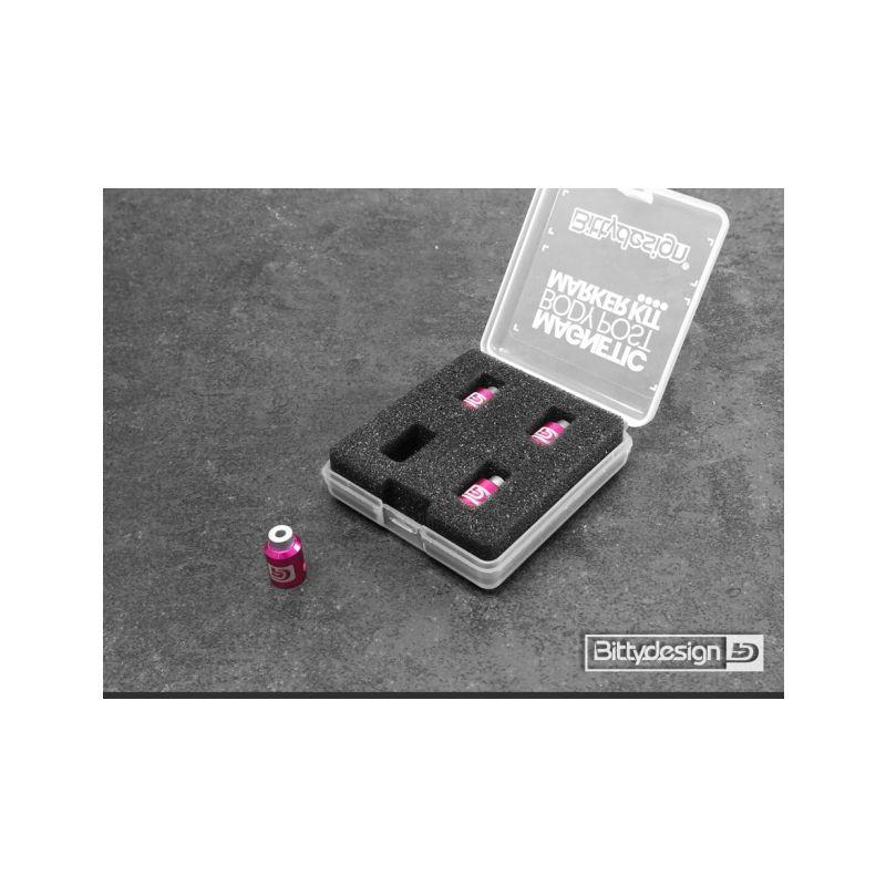 Označovací sada pro 1/10 karoserie - fialová - 1