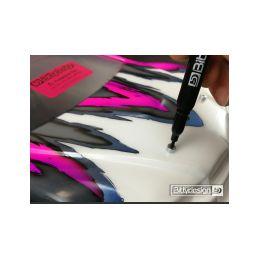 Označovací sada pro 1/10 karoserie - fialová - 4