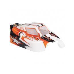 Spirit EVO Bitty design oranžová lexanová karoserie - 1