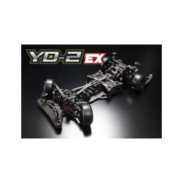 Yokomo YD-2 EX RWD 1:10 Kit driftovacího podvozku (Matné grafitové šasí) - 1
