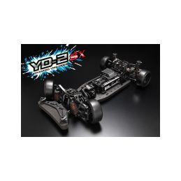 Yokomo YD-2SX RWD 1:10 Kit driftovacího podvozku (grafitové šasí) - 1