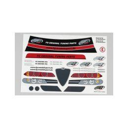 Nálepky FG Alfa Romeo, sada - 1