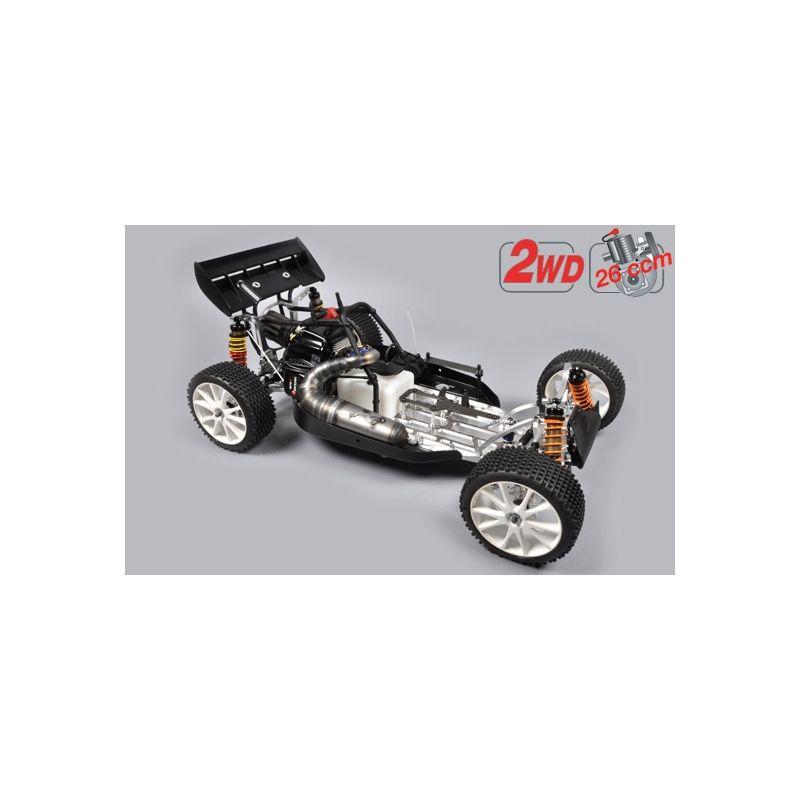 FG Leopard 2020 Competition Buggy, 2WD, čirá karoserie + centrální hydr. brzda - 1