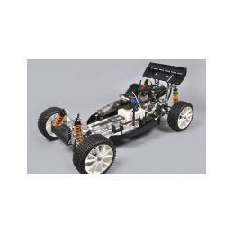 FG Leopard 2020 Competition Buggy, 2WD, čirá karoserie + centrální hydr. brzda - 2