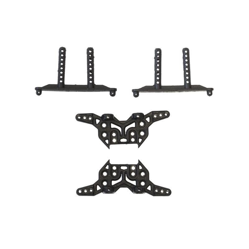 Konzole karoserie + držáky tlumičů - Antix MT-1/MT12 NEO - 1