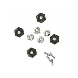 12mm HEX unašeče (4ks) + pojistná matice (4ks) - Antix MT-1/MT12 NEO - 1