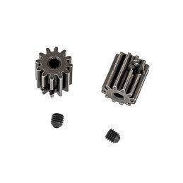 Motorý pastorek 12 zubů + imbus červíky 3x3mm (2 ks.) - 1