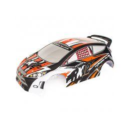 RX12 oranžová lakovaná lexanová karoserie - 1