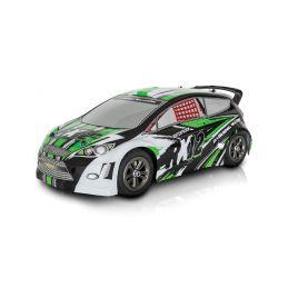 RX-12 elektro Rally auto - 2.4GHz RTR - zelený (2wd) - 1