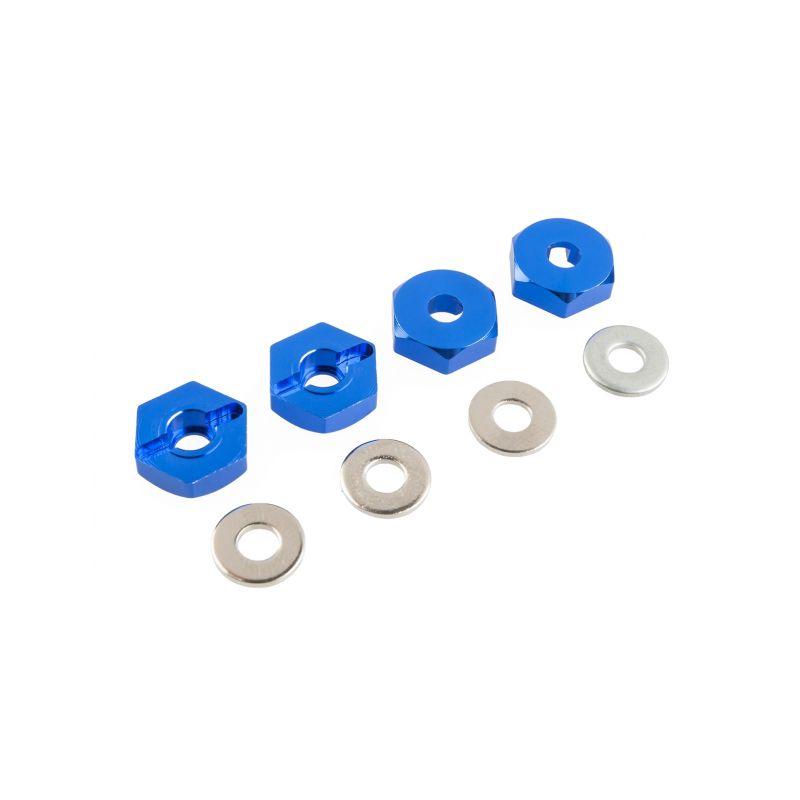 Unašeče kol – ALU, (modré), 4ks. 102042 - 1