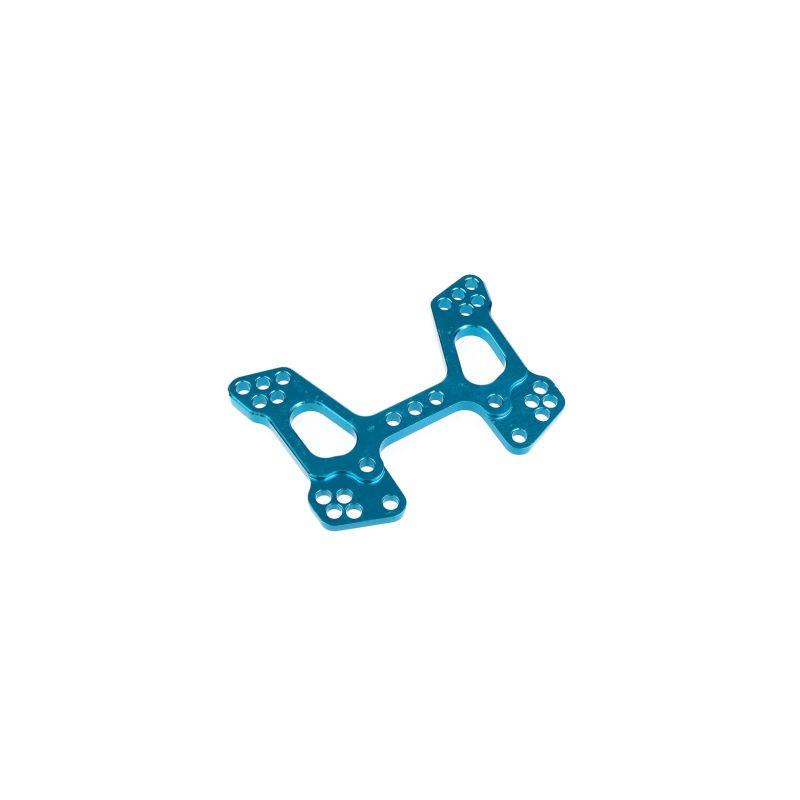 Držák/parohy předních tlumičů, ALU (modré) - 1