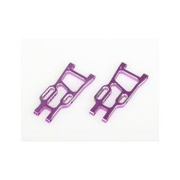 Zadní spodní ramena, ALU, 2ks. (fialové) - 1